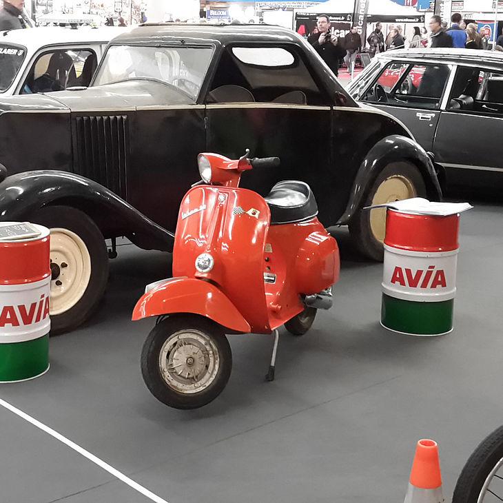 Avia très remarqué au salon auto moto rétro de Dijon. dans - - - Actualité lubrifiants automobiles csm_salon_auto_moto_retro_5_40316b7f58